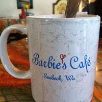 Photo taken at Barbie's Seabeck Bay Cafe by Tara F. on 4/1/2012