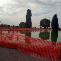 Photo taken at Villa Adriana by Steven C. on 10/21/2011