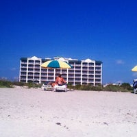 Photo taken at Resort on Cocoa Beach by Brooke J. on 8/14/2011
