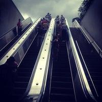 Photo taken at Smithsonian Metro Station by Jon B. on 6/14/2012