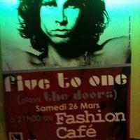 Photo taken at Fashion Café by Jérémy V. on 3/26/2011