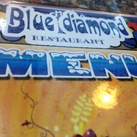 Photo taken at Blue Diamond Restaurant by diana a. on 8/15/2012