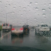 Photo taken at Belt Parkway by Darshan R. on 6/12/2012