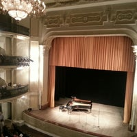 Photo taken at Teatro Carlos Gomes by Henrique M. on 7/27/2012