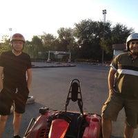 Photo taken at Kemer Karting by Mert S. on 8/25/2012