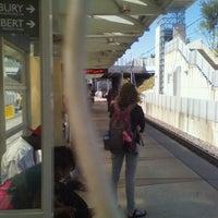 Photo taken at MetroLink - Forest Park Station by Eric V. on 9/30/2011