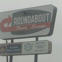 Photo taken at Roundabout Diner & Lounge by Jim L. on 3/16/2012