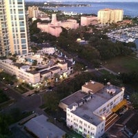 Photo taken at Parkshore Grill by Sophia G. on 1/3/2012
