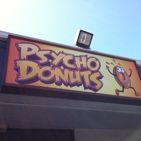 Photo taken at Psycho Donuts by Erik L. on 8/21/2011