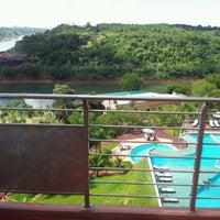 Photo taken at Amerian Portal Del Iguazu Hotel by Tatiana Marcelle B. on 1/15/2012