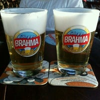 Photo taken at Quiosque da Brahma by Thalita S. on 6/10/2012