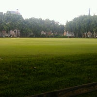Photo taken at Vincent Square Playing Fields by gaetan f. on 7/1/2011