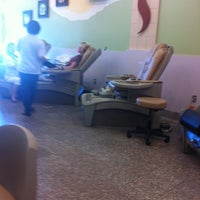 Photo taken at Happy Nails by Lauren S. on 9/19/2011