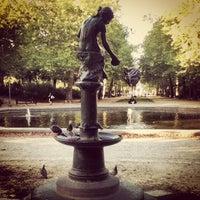 Photo taken at Warandepark / Parc de Bruxelles by Danilo L. on 9/7/2012