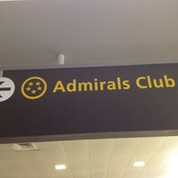 Photo taken at American Airlines Admirals Club by Gustavo S. on 5/5/2012