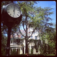 Photo taken at Wilson-Sottile House, College of Charleston by Jeni B. on 6/21/2012