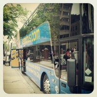 Photo taken at Megabus Stop Providence by Kyle D. on 5/13/2012