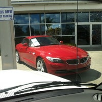 Photo taken at Fields BMW of South Orlando by Christina R. on 3/16/2012