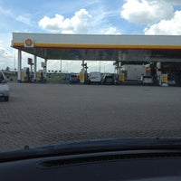 Photo taken at Shell Station Hellevliet by Michel S. on 6/10/2012