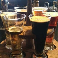 Photo taken at Flat Branch Pub & Brewing by Kyle C. on 2/18/2012