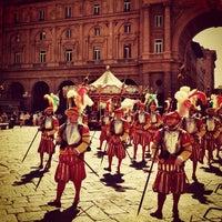 Photo taken at Piazza della Repubblica by Daniel B. on 6/17/2012