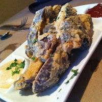 Photo taken at VSPOT Vegan Cafe by Laura M. on 5/5/2012
