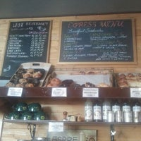 Photo taken at Rise & Shine Bakery by Estee B. on 4/16/2012