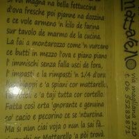 Photo taken at MATTARELLO - Pizzeria Forno a Legna by Marta on 8/31/2012