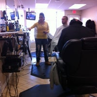 Photo taken at Central Ave Barbershop by Juan W. on 2/10/2011
