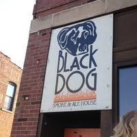 Photo taken at Black Dog Smoke & Ale House by Katie C. on 5/10/2012