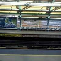Photo taken at Metro San Joaquín by María José E. on 6/18/2012
