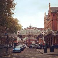 Photo taken at London Marylebone Railway Station (MYB) by kiptrip on 11/5/2011