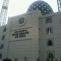 Photo taken at Andalusia Islamic Center by Widodo R. on 4/8/2012