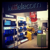 Photo taken at Lattelecom Shop by Mareks M. on 4/14/2012