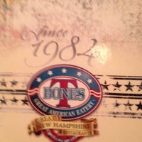 Photo taken at T-Bones Great American Eatery by Barbara B. on 4/11/2012