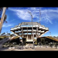 Photo taken at Geisel Library by Drew C. on 6/29/2012