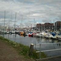 Photo taken at Jachthaven Scheveningen by Bas K. on 9/2/2011
