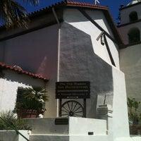 Photo taken at Mission San Buenaventura by Georgina D. on 3/18/2012