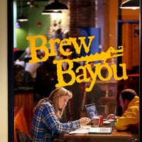 Photo taken at Brew Bayou Coffee Shop by @MarquetteU on 1/12/2012
