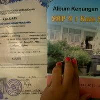 Photo taken at SMPN 1 KUTA SELATAN by Diah M. on 6/23/2012