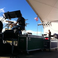 Photo taken at The Stage @ Balloon Fiesta Park by Marlon L. on 10/8/2011