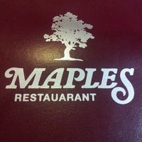 Photo taken at Maples Restaurant & Pizza by Dawn M. on 9/2/2012