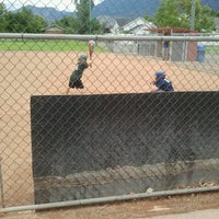 Photo taken at Community Baseball Fields by Kristie B. on 7/14/2012