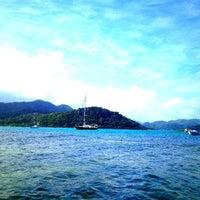 Photo taken at Isla Grande Colon by Jose D. on 12/31/2011