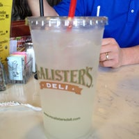 Photo taken at McAlister's Deli by Laura H. on 3/18/2012