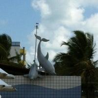 Photo taken at Golfinho Bar e Restaurante by Andre Luiz M. on 12/30/2011