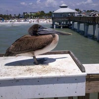 Photo taken at Fort Myers Beach by Debbie D. on 4/18/2012