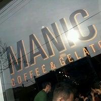 Photo taken at Manic Coffee by Adbeus M. on 12/3/2011