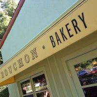 Photo taken at Bouchon Bakery by Ryan G. on 5/12/2012