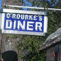 Photo taken at O'Rourke's Diner by Nellie C. on 11/6/2011